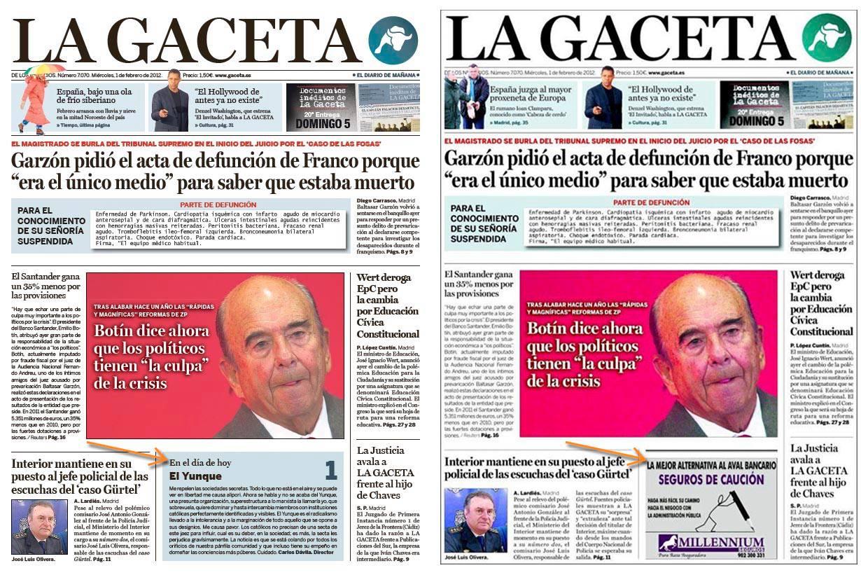 De reserva a censura - Conozca El Yunque - La Gaceta - Intereconomía